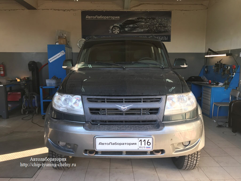 UAZ Patriot 2.7L 128HP (2008 г.в.)